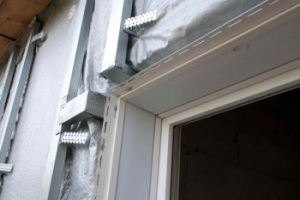 Технология отделки оконных и дверных проемов сайдингом
