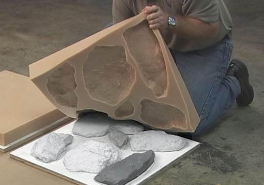 Купить формы искусственный камень своими руками