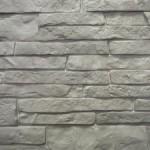 Цокольный сайдинг Nailite серии тесанный камень цвет серый сланец