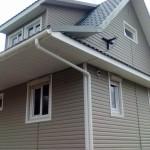Отделка фасада материалом Holzplast