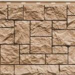 Фасадная панель дикий камень песчаный Finaber