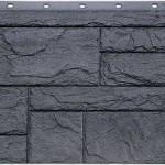 Фасадная панель Fineber камень серо-зелёный