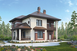Отделка дома снаружи фасадными панелями