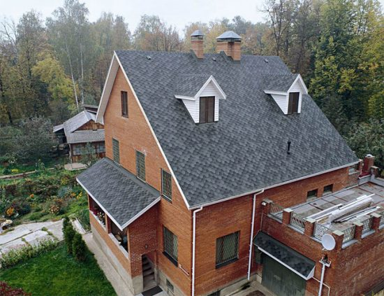 Стоимость монтажа крыши из мягкой (гибкой) черепицы
