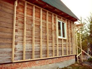 Монтаж деревянной обрешетки под сайдинг