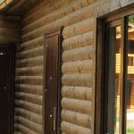 Деревянный сайдинг под блок хаус