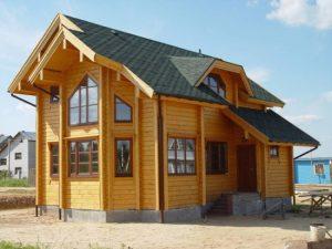 Фото отделки дома деревянным сайдингом фальш брус
