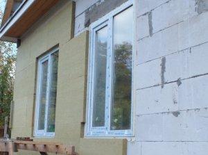 Методы и способы утепления газобетонных стен дома