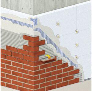Технология и последовательность облицовки фасада клинкерной плиткой