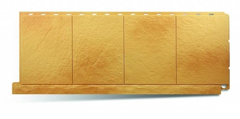Фасадная панель Альта Профиль фасадная плитка цвет златолит