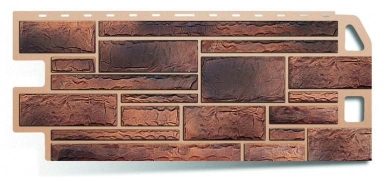 Фасадная панель Альта Профиль камень цвет сланец