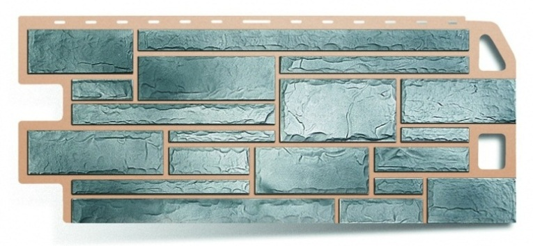 Фасадная панель Альта Профиль камень цвет топаз