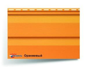 """Акриловый сайдинг Альта профиль """"Kanada Плюс"""" цвет оранжевый"""