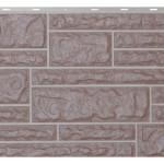 Фасадная панельVox камень цвет хамелеон коричневый