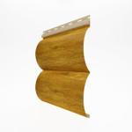 Виниловый сайдинг под бревно (блок хаус) Holzblock 150 цвет золотой дуб