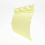 Виниловый сайдинг под бревно (блок хаус) Holzblock 180 цвет светло-желтый