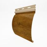 Виниловый сайдинг под бревно (блок хаус) Holzblock 180 цвет золотой дуб