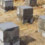 Как сделать опорно-столбчатый фундамент из бетонных блоков?