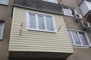 Пошаговая инструкция обшивки балкона сайдингом