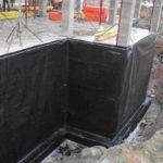 Устройство горизонтальной и вертикальной гидроизоляции фундамента