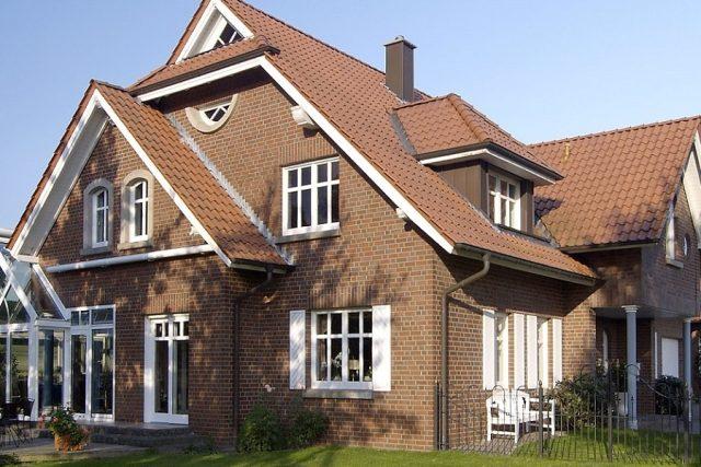 Фото домов после отделки стен дома клинкером
