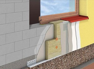 Технология укладки мокрый фасад