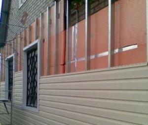 Утепление фасада дома пенополистиролом