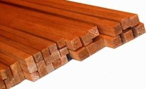 Деревянная рейка с био огне защитой