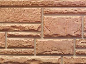 Цокольный сайдинг Nailite серии тесанный камень цвет бежевый (Desert Buff)