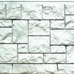 Фасадная панель Дикий камень жемчужный Fineber