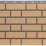 Фасадная панель FIneber облицовочный кирпич желтый