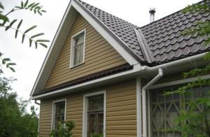 выбор и обшивка фронтона дома виниловым сайдингом своими руками