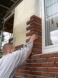 Технология отделки окон фасадными термопанелями