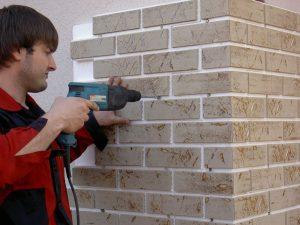 Крепление фасадных термопанелей к стене