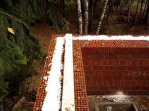Межстенное утепление стен дома при стороительстве