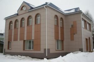 Технология установки вентилируемого фасада