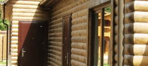 Фото деревянного сайдинга под блок хаус