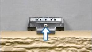 скрытое крепление фиброцементных панелей