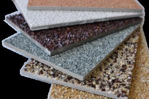 Виды фиброцементных панелей по толщине, длине и цвету, фактуре поверхности