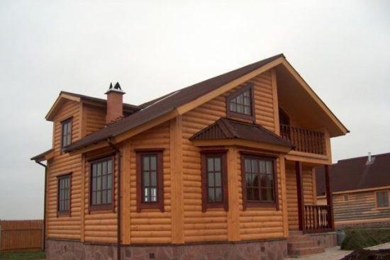 Правильная отделка дома металлосайдингом