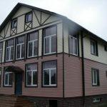 Отделка фасада дома сайдингом фото