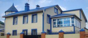 Фото отделки фасада дома сайдингом