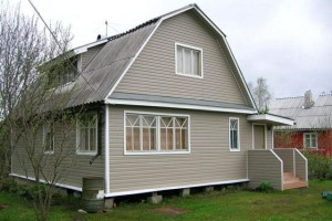 Расчет и размеры сайдинга на фасад дома