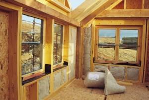 Внутренее утепление каркасного дома