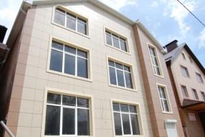 Фото здание после облицовки керамогранитом