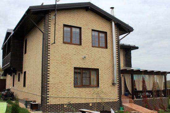 Материалы и технология укладки клинкерной плитки на фасад