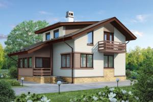 Виды и варианты отделки фасада дома сайдингом
