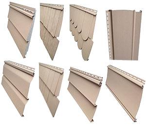 Выды форм винилового сайдинга для обшивки дома