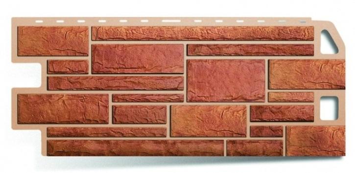 Фасадная панель Альта Профиль камень цвет бежевый