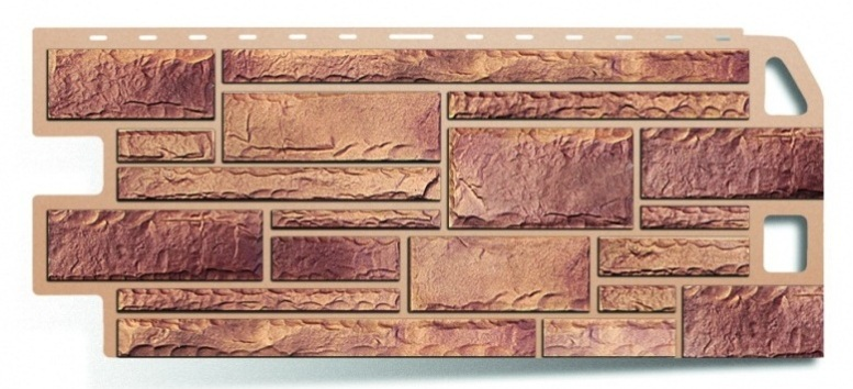 Фасадная панель Альта Профиль камень цвет кварцит